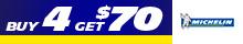 Michelin - Get $70 via MasterCard® Reward Card