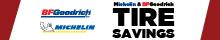 Michelin and BFGoodrich Tire Savings!