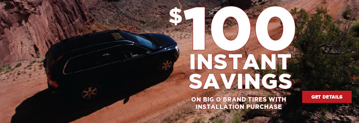 Regional - May $100 Instant Savings
