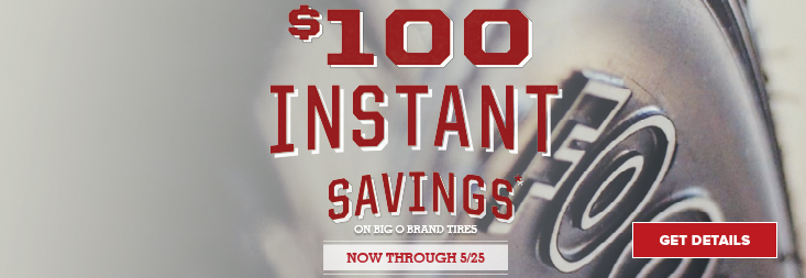 Regional- $100 Instant Savings