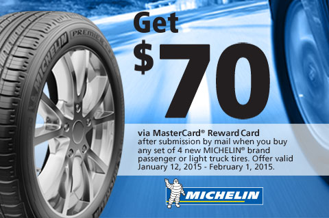 Michelin-Get$70viaMasterCard®RewardCard