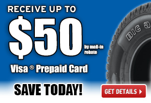 Get Up to $50 Visa® Prepaid Card!