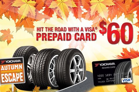 Yokohama$60VisaPrepaidCard!