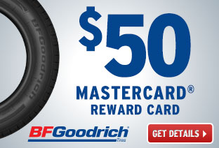 BFG - $50 MasterCard® Reward Card!