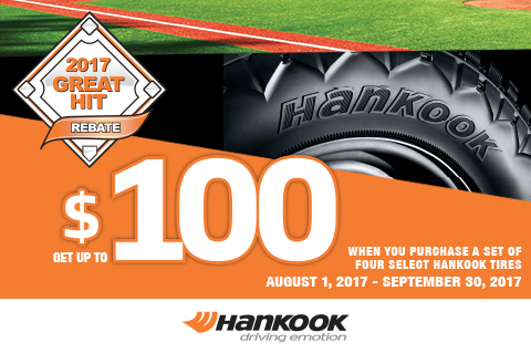 Hankook–Getupto$100Mail-inRebate!