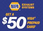 Napa - Get a $50 Visa® Prepaid Card!