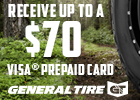 GENERAL TIRE – UP TO $70 REBATE!