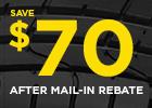 $60 Pirelli rebate