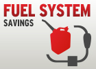 $69.95 Fuel System Cleaning!