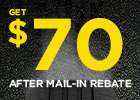 Pirelli $60 Mail-in Rebate