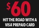 Yokohama $60 Visa® Prepaid Card!