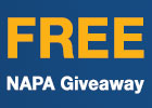 Free Gift with Napa Purchase