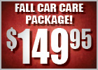 Spring Car Care Package Only $149.95!