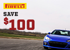 Pirelli Rebate and MADD donation