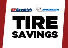 Michelin and BFGoodrich Tire Savings!