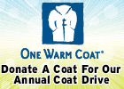 Receive a Gift if you Donate a Coat!