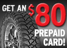 Mickey Thompson - $80 Prepaid Card By Mail