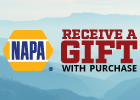 Save up to $50 on Napa Chassis Precision Engineered Steering and Suspension Parts