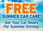 Free Summer Car Care Special!