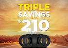 Triple Your Savings – Up to $210 Back on Goodyear Tires!