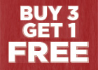 Buy 3, Get 1 Free on Select In-Stock Tires With Installation Purchase!