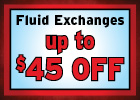 Fluid Exchange Special!