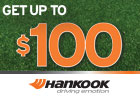 Hankook Tire - Up to $100 Mail-in Rebate!