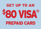 Cooper Tires BL - Get up to a $80 Cooper Tires Visa Prepaid Card!