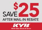 KYB Shocks & Struts – Save up to $100!