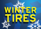 Winter tires starting at $39.95!