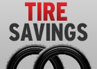 $25 Off a Set of 4 Select Tires!
