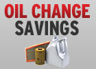 $10 Off Standard Oil & Filter Change