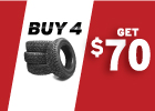 BFGoodrich - Get up to $70 via MasterCard® Reward Card