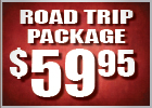 $59.95 Road Trip Package
