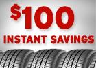 $100 Instant Savings!