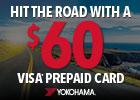 Yokohama Summer Joyride - $60 Visa® Prepaid Card!