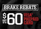 $60 Brake Rebate!