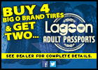 Buy 4 Big O Brand Tires, Get 2 All-Day Passes to Lagoon