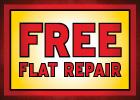 Free Flat Repair!