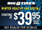 Winter Healthy Car Special