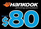 Up to $80 Mail-in Rebate - Hankook