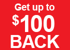 Up to $100 Back With Purchase of 4 Select Kumho Tires!