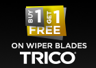 Buy 1 get 1 free on selet in stock wiper blades