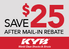 KYB Mail in Rebate