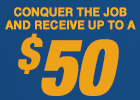 Napa - Get up to a $50 Rebate Visa® Card by Mail with Qualifying Brake Purchase!