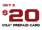 Interstate Battery Promotion - Get a $20 Visa Prepaid Card