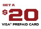 Interstate Battery Promotion - Get a $20 Visa Prepaid Card