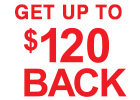 Kumho - Get up to $120 Back with the Purchase of 4 Select Kumho Tires!