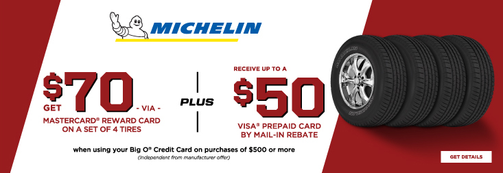 Regional - Michelin Tire Savings!