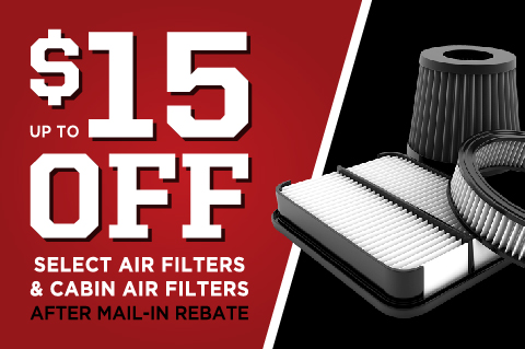 Air & Cabin Filter Savings!